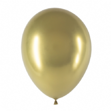 "Chromium Gold 5 inch Balloons - Decotex 5"" Balloons 50pcs"